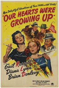 Our Hearts Were Growing Up - 27 x 40 Movie Poster - Style A