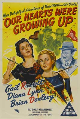Our Hearts Were Growing Up - 27 x 40 Movie Poster - Australian Style A