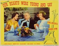 Our Hearts Were Young and Gay - 11 x 14 Movie Poster - Style B
