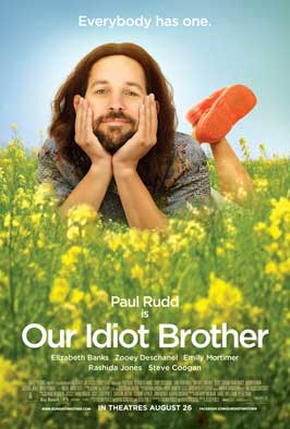 Our Idiot Brother - 43 x 62 Movie Poster - Bus Shelter Style A