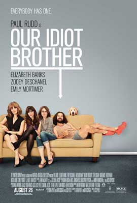 Our Idiot Brother - 11 x 17 Movie Poster - Canadian Style A