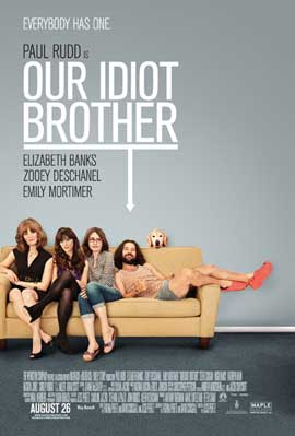 Our Idiot Brother - 27 x 40 Movie Poster - Canadian Style A