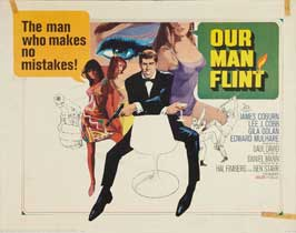 Our Man Flint - 22 x 28 Movie Poster - Half Sheet Style A