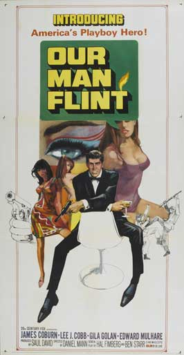 Our Man Flint - 14 x 36 Movie Poster - Insert Style A
