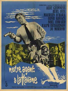 Our Man In Havana - 11 x 17 Movie Poster - French Style A