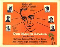Our Man In Havana - 22 x 28 Movie Poster - Half Sheet Style A
