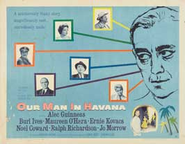 Our Man In Havana - 11 x 14 Movie Poster - Style F