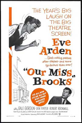 Our Miss Brooks - 27 x 40 Movie Poster - Style A