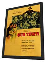 Our Town - 11 x 17 Movie Poster - Style A - in Deluxe Wood Frame