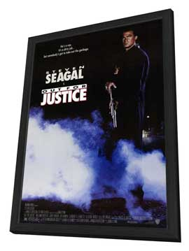 Out for Justice - 27 x 40 Movie Poster - Style A - in Deluxe Wood Frame