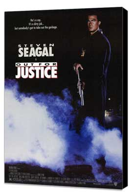 Out for Justice - 27 x 40 Movie Poster - Style A - Museum Wrapped Canvas
