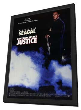 Out for Justice - 11 x 17 Movie Poster - Style A - in Deluxe Wood Frame