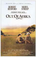 Out of Africa - 11 x 17 Movie Poster - Style A