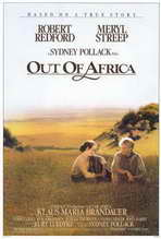 Out of Africa - 27 x 40 Movie Poster - Style A