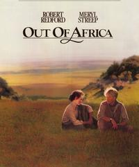 Out of Africa - 11 x 17 Movie Poster - Style B