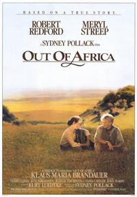 Out of Africa - 43 x 62 Movie Poster - Bus Shelter Style A