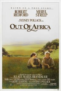 Out of Africa - 27 x 40 Movie Poster - Australian Style A