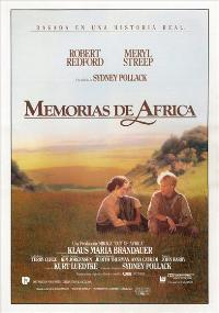 Out of Africa - 27 x 40 Movie Poster - Spanish Style A