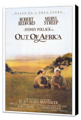 Out of Africa - 27 x 40 Movie Poster - Style A - Museum Wrapped Canvas