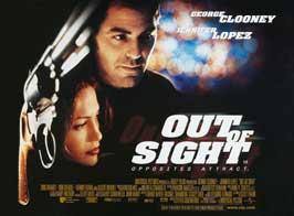 Out of Sight - 30 x 40 Movie Poster UK - Style A