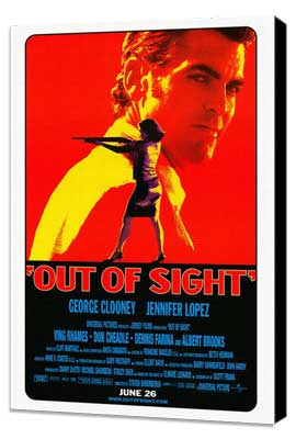 Out of Sight - 27 x 40 Movie Poster - Style A - Museum Wrapped Canvas