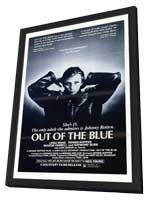 Out of the Blue - 27 x 40 Movie Poster - Style A - in Deluxe Wood Frame