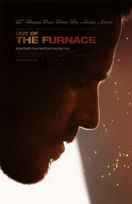 Out of the Furnace - 27 x 40 Movie Poster - Style A - in Deluxe Wood Frame