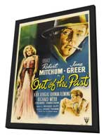 Out of the Past - 11 x 17 Movie Poster - Style A - in Deluxe Wood Frame