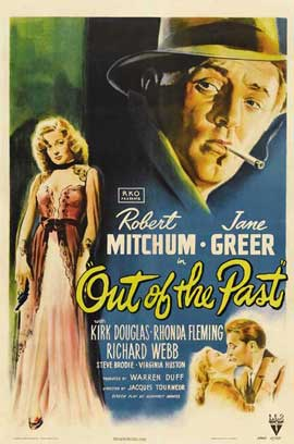 Out of the Past - 11 x 17 Movie Poster - Style A