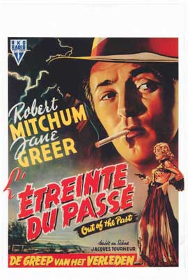 Out of the Past - 14 x 22 Movie Poster - Belgian Style A
