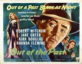 Out of the Past - 22 x 28 Movie Poster - Half Sheet Style A