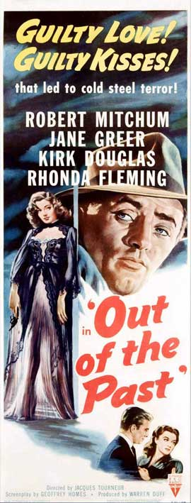 Out of the Past - 14 x 36 Movie Poster - Insert Style B