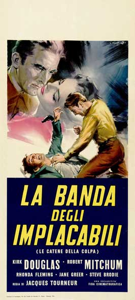 Out of the Past - 11 x 17 Movie Poster - Italian Style J