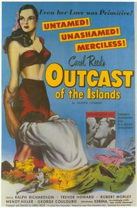 Outcast of the Islands - 11 x 17 Movie Poster - Style A