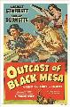 Outcasts of Black Mesa - 11 x 17 Movie Poster - Style A