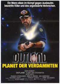 Outland - 11 x 17 Movie Poster - German Style A