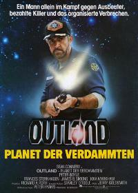 Outland - 27 x 40 Movie Poster - German Style A