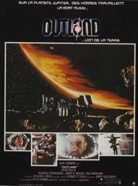 Outland - 11 x 17 Movie Poster - French Style A