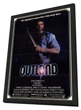 Outland - 11 x 17 Movie Poster - Style A - in Deluxe Wood Frame
