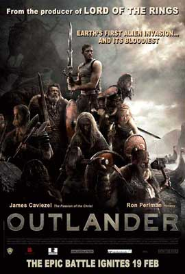 Outlander - 27 x 40 Movie Poster - Style B