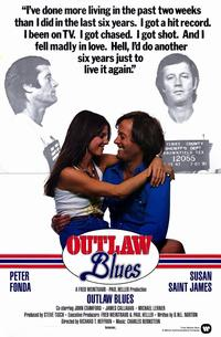 Outlaw Blues - 11 x 17 Movie Poster - Style A