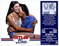 Outlaw Blues - 11 x 14 Movie Poster - Style A