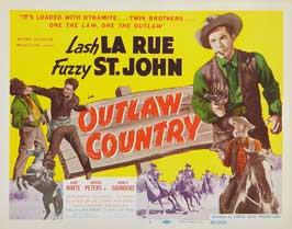 Outlaw Country - 11 x 17 Movie Poster - Style A
