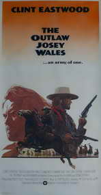 The Outlaw Josey Wales - 14 x 36 Movie Poster - Insert Style A