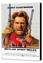 The Outlaw Josey Wales - 11 x 17 Movie Poster - Style A - Museum Wrapped Canvas