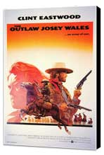 The Outlaw Josey Wales - 11 x 17 Movie Poster - Style B - Museum Wrapped Canvas