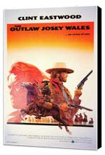 The Outlaw Josey Wales - 27 x 40 Movie Poster - Style B - Museum Wrapped Canvas