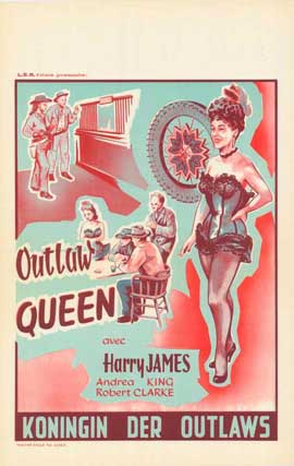 Outlaw Queen - 11 x 17 Movie Poster - Belgian Style A