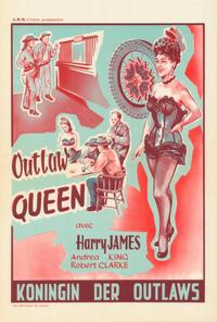 Outlaw Queen - 27 x 40 Movie Poster - Belgian Style A