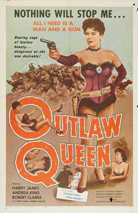 Outlaw Queen - 27 x 40 Movie Poster - Style A